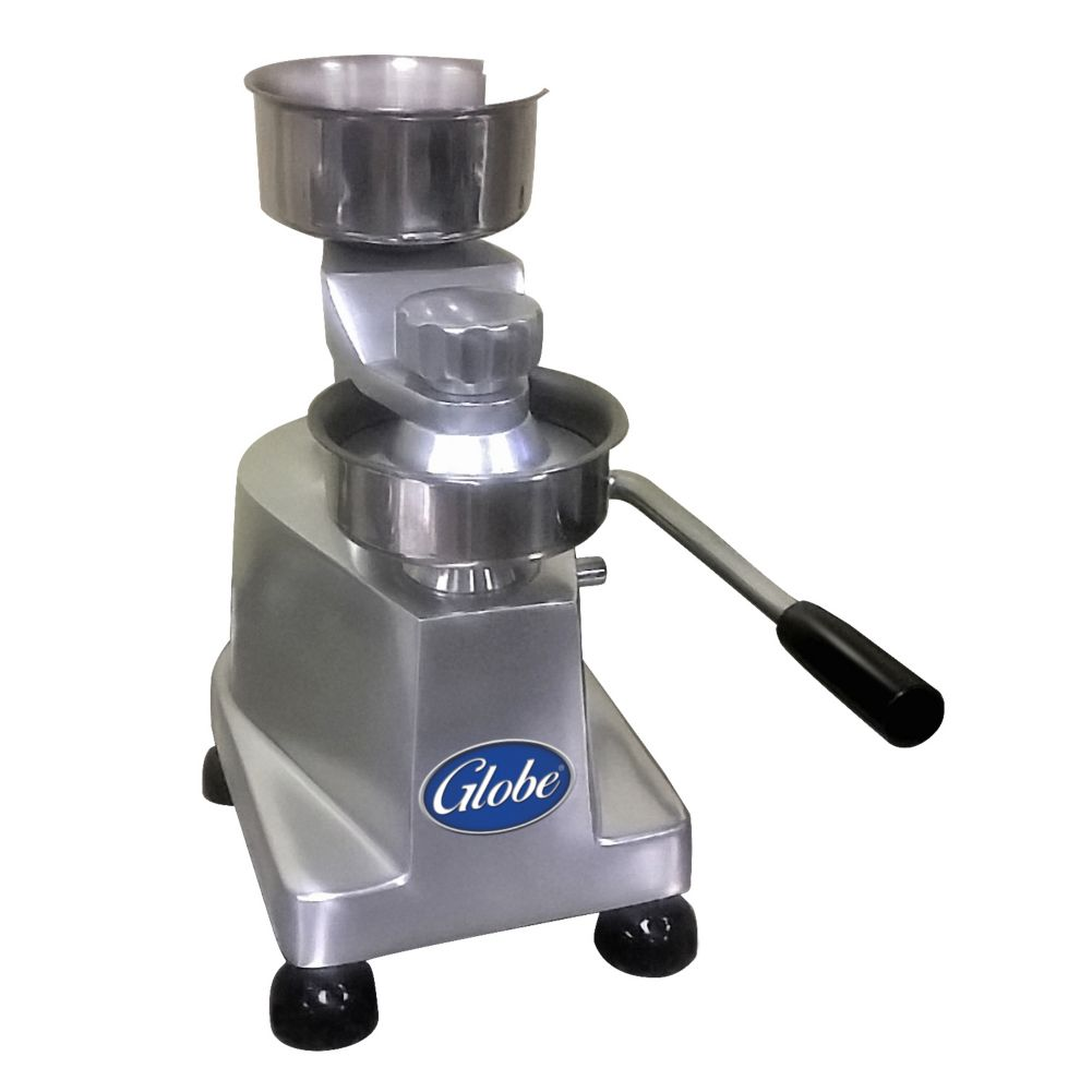 "Globe Food Equipment PP5 Manual Operated 5"" Patty Press"