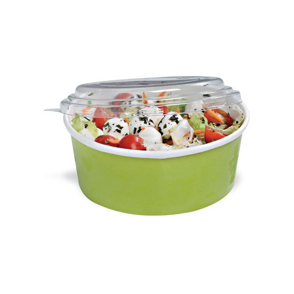 PackNWood 210PC750V Buckaty 24 Ounce Green To-Go Container - 360 / CS