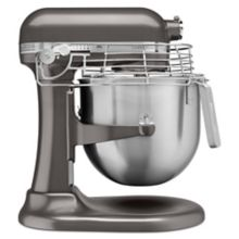KitchenAid® KSMC895DP Dark Pewter Commercial 8 Qt. Stand Mixer