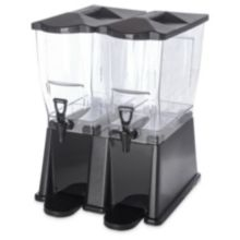 Carlisle 1085103PC TrimLine 6 Gallon Double Base Beverage Dispenser