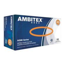 Tradex NMD200BLK Medium Black Nitrile Exam Gloves - 1000 / CS