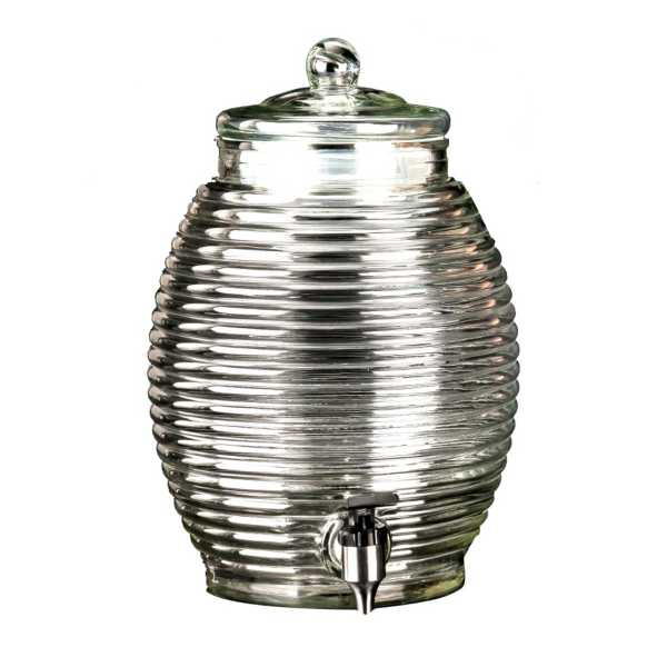 Libbey Glass Beehive Dispenser