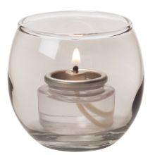 "Hollowick® 5119S Bubble Style 2-3/8 x 2-5/8"" Tea Light Lamp"
