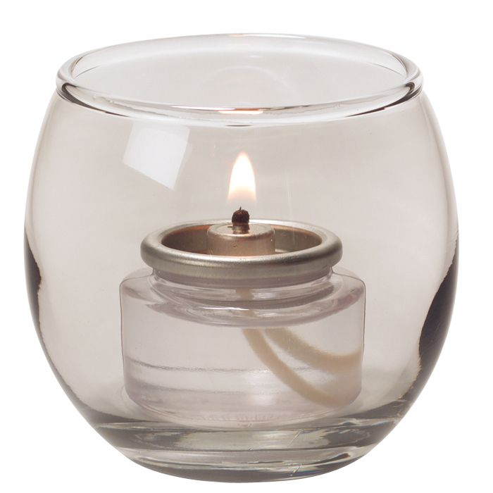 "Hollowick® 5119S Bubble Style 2-3/8 x 2-5/8"" Tea Light Lamp"