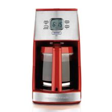 Hamilton Beach 43253R Programmable Red 12 Cup Coffee Maker