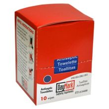 DayMark® 132473 First Aid Antiseptic Cleaning Wipes