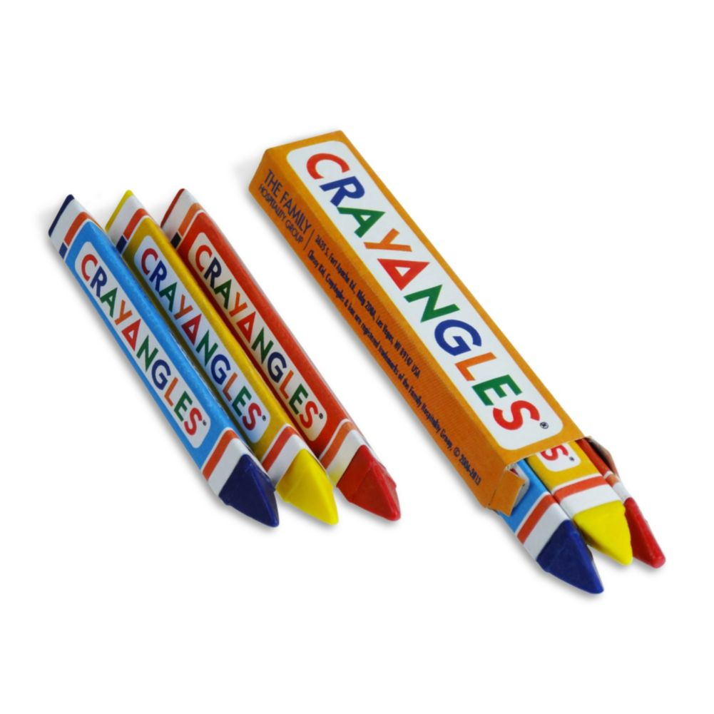 Family Hospitality 1T3B CrayAngle™ Triangular Crayons - 750 / CS