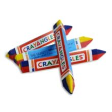 Family Hospitality 1T1Y CrayAngle™ Tri-Color Crayons - 500 / CS