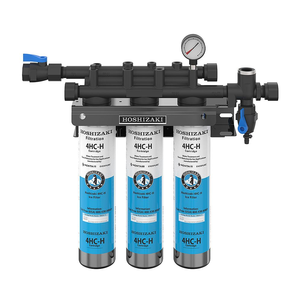 Hoshizaki H9320-53 Triple Water Filter System w/ Manifold & Cartridge