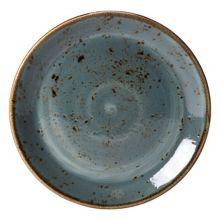 """Steelite 11300565 Craft 11.75"""" Blue Plate - 12 / CS"""