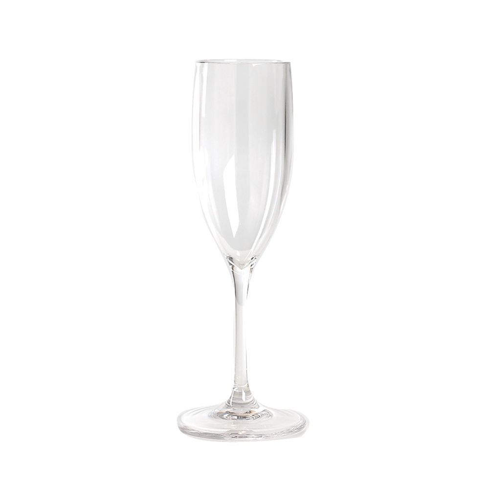 Impulse Enterprises 6615 Capri Polycarbonate 5 Oz Champagne Flute Glass - 12 / CS
