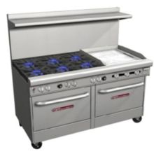 Southbend 4601DD-2GR Ultimate Natural Gas 6-Burner Range with Griddle
