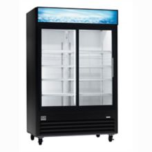 Kelvinator KCGM47RB Refrigerated Sliding Glass 2 Door Merchandisers