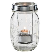 Hollowick® 1610C Firefly™ Clear Tealight Jar