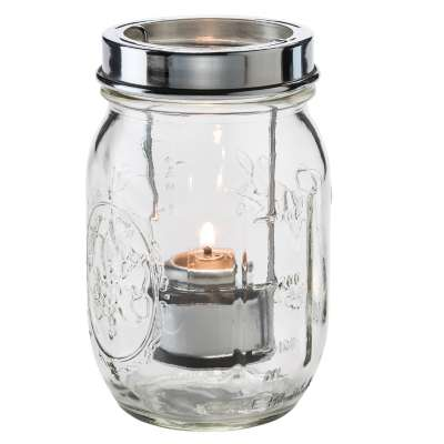 Hollowick 1610C Firefly Clear Tealight Jar