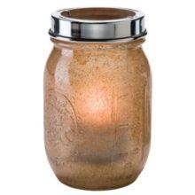 Hollowick® 1610AG Firefly™ Antique Gold Tealight Jar