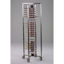 Plate-Mate PM84-136 Collapsible 84 Plate Capacity Plate Mate Cart