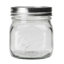 Ball® 1440061180 Collection Elite® 16 Oz. Mason Jars - 16 / CS