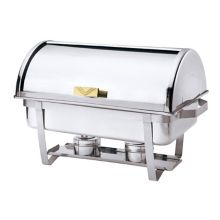 Browne Foodservice 575135 S/S Economy Round 9 Qt. Chafer