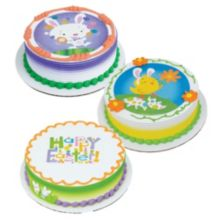 Lucks 49259 Easter Cheer Edible Image® Decoration - 12 / BX