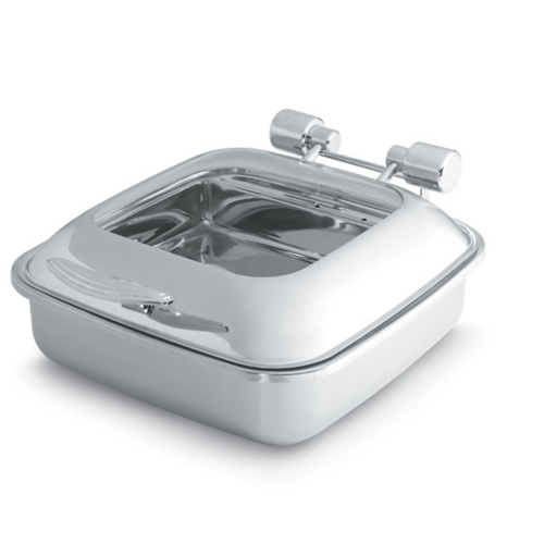Vollrath 46134 Intrigue™ S/S 6 Quart Glass Top Induction Chafer