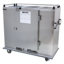 Cres Cor® EB-120 Insulated Heated Stainless Steel Banquet Cart