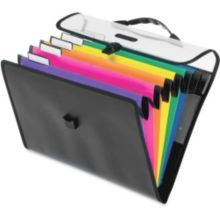 "Office City Express PFX52891 8.5"" x 11"" Hanging 6-Pocket Organizer"