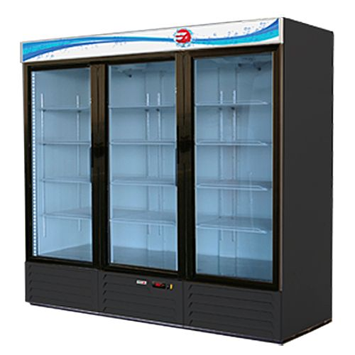 Fagor Commercial FMD-72 Single Door Glass 72 Cu Ft Door Merchandiser