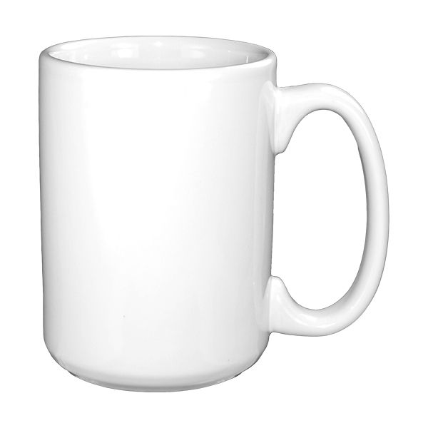 International Tableware 81015-02 Cancun White 13.5 Oz Mug-36 / CS