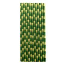 Restaurantware RWA0011 Bamboo Paper Straw - 100 / BX