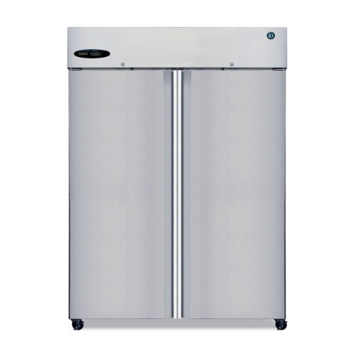 Hoshizaki CF2S-FS Two Section Upright Reach-In Full S/S Door Freezer