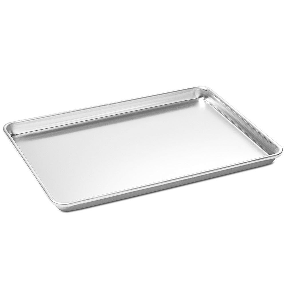 "Darling Food Service Aluminum 18 Ga 13"" x 18"" Sheet Pan"