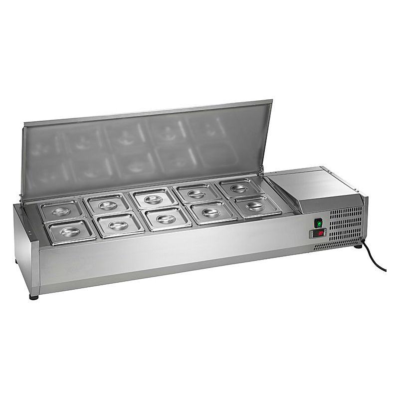 "Arctic Air ACP55 55"" Refrigerated Counter-Top Prep Unit"