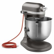 KitchenAid KSM8990DP Pewter 8 Qt. Commercial Stand Mixer