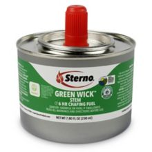 Sterno Products® 10122 Green Wick 6 Hour Chafing Fuel - 24 / CS
