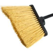 "Carlisle® 3688500 Duo-Sweep 56"" Black Medium Duty Angle Broom"