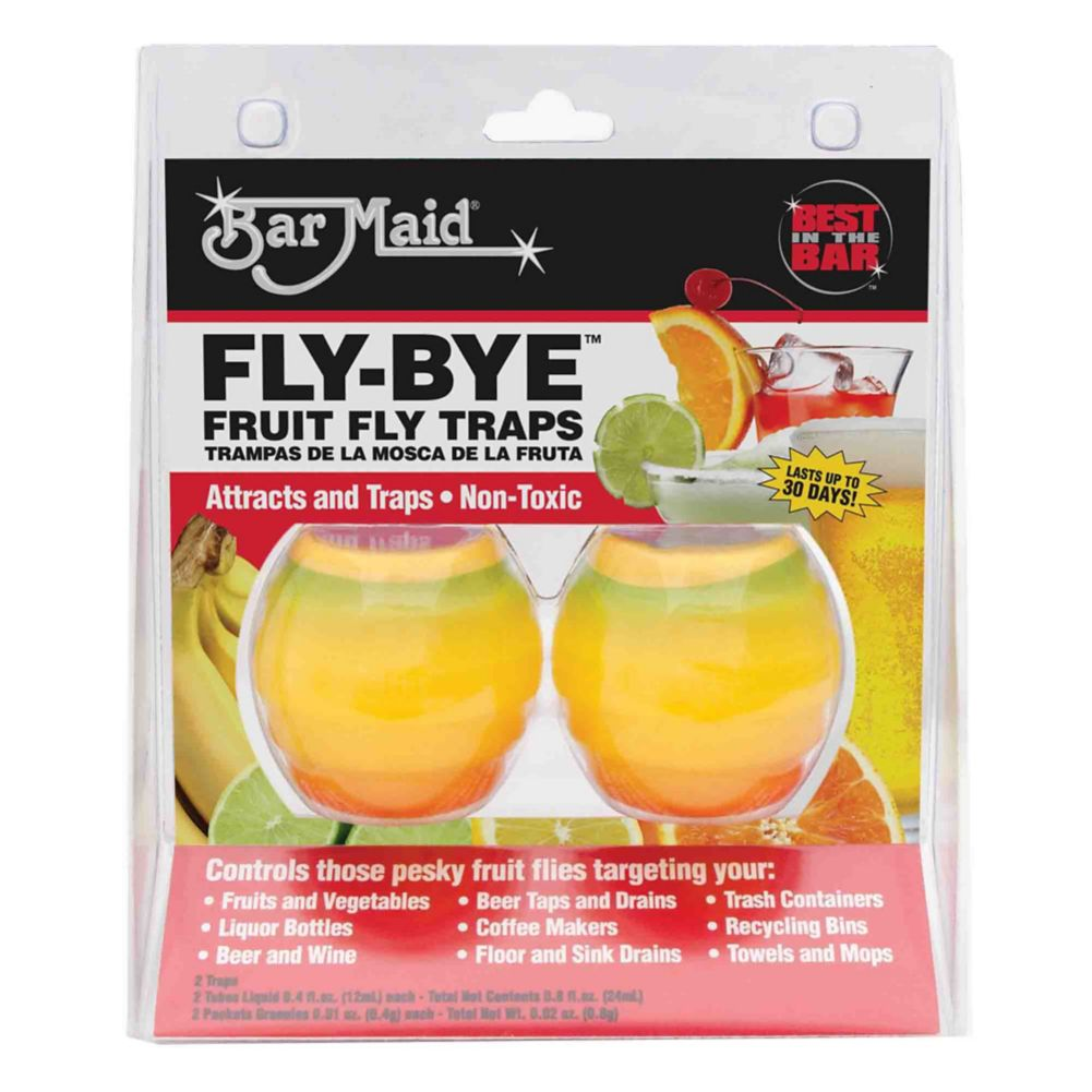 Bar Maid® FLY-BYE™ Fruit Fly Trap - 2 / PK