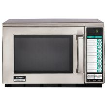 Sharp R-22GTF Heavy-Duty 1200W Commercial Microwave
