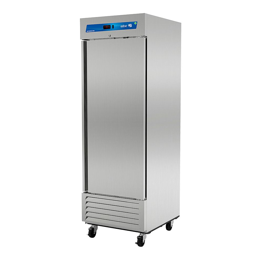 Darling Food Service One Door 23 Cu. Ft. Reach-In Refrigerator