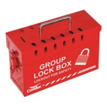 Condor 48LU40 Red Steel Group Lock Out Center Box