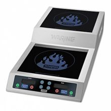 Waring® Commercial WIH800 208V Step-Up Double Induction Range