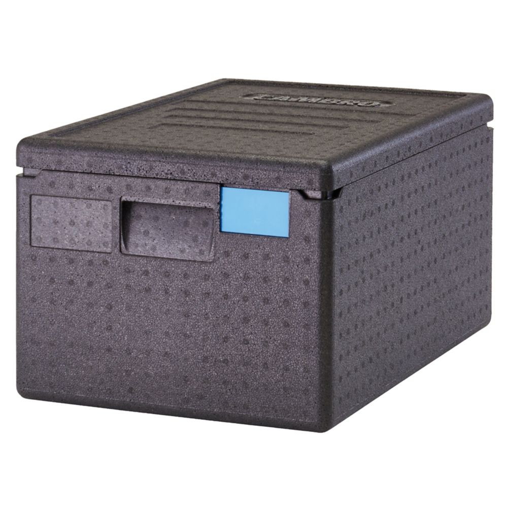 Cambro EPP180SW110 Black Top Loading Cam GoBox™ Catering Box