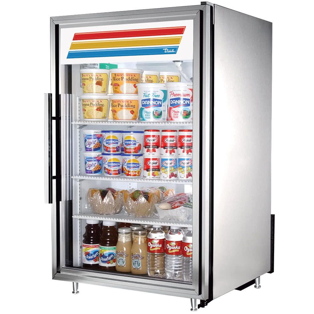 True GDM-07-S-HC~TSL01 Refrigerated Countertop Display Case
