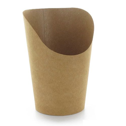 PackNWood 210GSPK660 Kraft Paper 14 Ounce Wrap Cup - 1000 / CS