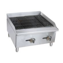 "Darling Food Service Gas 24"" Countertop Charbroiler"