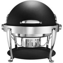 Bon Chef 19000CH-NERO Elite S/S 2 Gallon Round Chafer with Feet