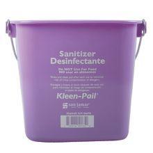 San Jamar® KP196PR Kleen-Pail® 6 Quart Purple Allergen Pail