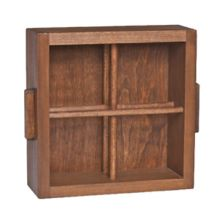 Creations 6525T189 Creations Light Stain 4 Section Crate - 2 / CS