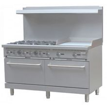 "Darling Food Service 6 Burner 60"" Range With 24"" Griddle"