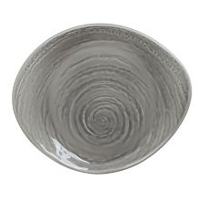"""Creations 1402X0062 Scape Gray 10"""" Plate - 12 / CS"""